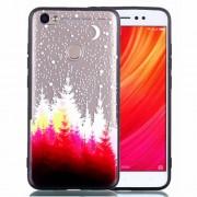 Θήκη Σιλικόνης TPU με Σκληρή Πλάτη για Xiaomi Redmi Note 5A Prime / Y1 - Δάσος και Φεγγάρι