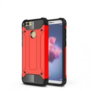 Armor Guard Plastic + TPU Hybrid Casing for Huawei P Smart / Enjoy 7S - Red