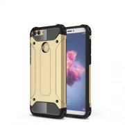 Armor Guard Plastic + TPU Hybrid Cell Phone Cover for Huawei P Smart / Enjoy 7S - Gold