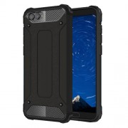 Armor Guard Plastic + TPU Hybrid Case for Huawei Honor V10 / Honor View 10 - Black