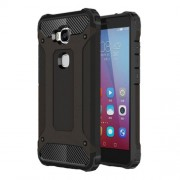 Armor Guard Plastic + TPU Hybrid Case for Huawei Honor 5X / Play 5X - Black