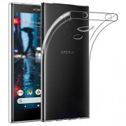 For Sony Xperia L2 Clear TPU Case Cover with Non-slip Inner