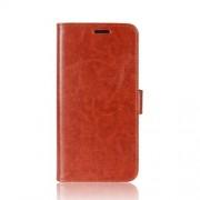 Δερμάτινη Θήκη Πορτοφόλι με Βάση Στήριξης για Samsung Galaxy S9 G960 - Καφέ
