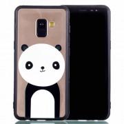 Θήκη Σιλικόνης TPU με Σκληρή Πλάτη για για Samsung Galaxy A8 Plus (2018) - Πάντα