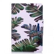 Δερμάτινη Θήκη Πορτοφόλι με Βάση Στήριξης για Samsung Galaxy Tab E 9.6 T560 - Μπανανόφυλλα
