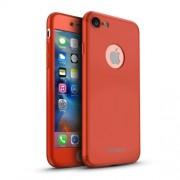 IPAKY Σκληρή Λεπτή Θήκη Καλύπτει Πρόσοψη και Πλάτη (2 τεμάχια) για iPhone 8 / 7 - Κόκκινο (50012794)