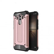 Armor Guard Plastic + TPU Combo Case Accessory for Huawei Mate 10 Pro - Rose Gold