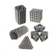 3mm 216Balls/Set Sliver Magnetic Balls BuckyBalls DIY Toy Neodymium Magnet Spheres Neo Cube