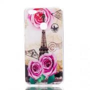 Θήκη Σιλικόνης TPU για Redmi Note 5A Prime / Redmi Y1 - Πύργος του Άιφελ και Λουλούδια