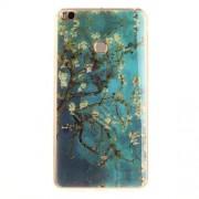 Θήκη Σιλικόνης TPU για Xiaomi Mi Max 2 - Ανθισμένη Αμυγδαλιά σε Μπλε Φόντο