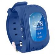 Q50 Children Safety Monitoring GPS Tracker SOS Kids Smart Watch Phone Support SIM - Dark Blue