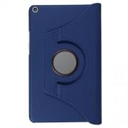 Περιστρεφόμενη Δερμάτινη Θήκη Βιβλίο με Βάση Στήριξης για Huawei MediaPad T3 8.0 - Σκούρο Μπλε