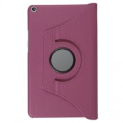 360 Degree Rotary Stand Litchi Skin Leather Tablet Case for Huawei MediaPad T3 8.0 - Purple