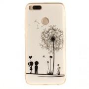 Θήκη Σιλικόνης TPU για Xiaomi Mi A1 / 5X - Ερωτευμένο Ζευγάρι και Πικραλίδα