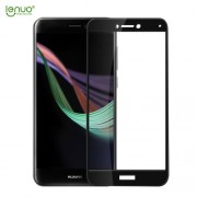 LENUO CF Σκληρυμένο Γυαλί (Tempered Glass) Προστασίας Οθόνης Πλήρης Κάλυψης για Huawei P8 Lite (2017) / P9 Lite (2017) - Μαύρο