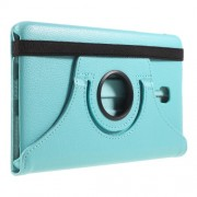 360 Degree Rotary Stand Leather Case for Samsung Galaxy Tab A 8.0 (2017) T380 T385 - Baby Blue