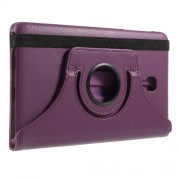 360 Degree Rotary Stand Leather Flip Case for Samsung Galaxy Tab A 8.0 (2017) T380 T385 - Purple