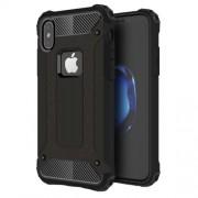 Tough Armor Υβριδική Θήκη Σιλικόνης TPU σε Συνδυαμό με Πλαστικό για iPhone X - Μαύρο