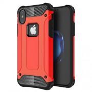 Tough Armor Υβριδική Θήκη Σιλικόνης TPU σε Συνδυαμό με Πλαστικό για iPhone X - Κόκκινο