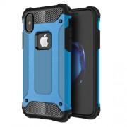 Tough Armor Υβριδική Θήκη Σιλικόνης TPU σε Συνδυαμό με Πλαστικό για iPhone X - Μπλε