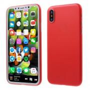 Σκληρή Θήκη Πολύ Λεπτή για iPhone X - Κόκκινο