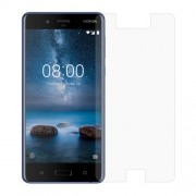Mobile Phone Tempered Glass Screen Protector 0,3mm (Arc Edge) for Nokia 8