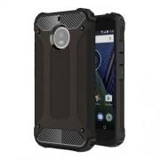 Tough Armor Υβριδική Θήκη Σιλικόνης TPU σε Συνδυαμό με Πλαστικό για Motorola Moto G5S Plus - Μαύρο