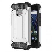 Tough Armor Υβριδική Θήκη Σιλικόνης TPU σε Συνδυαμό με Πλαστικό για Motorola Moto G5S - Ασημί