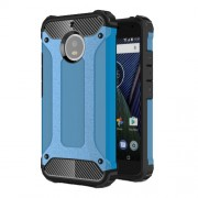 Armor Guard Plastic + TPU Combo Shell Case for Motorola Moto G5S - Baby Blue