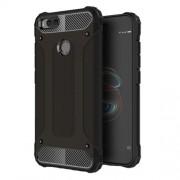 Armor Guard Plastic + TPU Hybrid Case for Xiaomi Mi A1 / 5X - Black