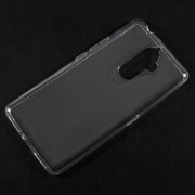 For Lenovo K8 Note Clear TPU Case Cover with Non-slip Inner - Transparent