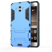 Υβριδική Θήκη Συνδυασμού Σιλικόνης TPU και Πλαστικού με Βάση Στήριξης για Huawei Mate 10 - Γαλάζιο