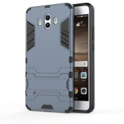 Cool Guard Plastic TPU Hybrid Mobile Case for Huawei Mate 10 - Dark Blue