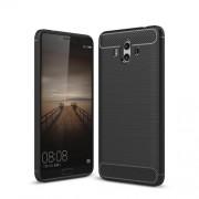 Θήκη Σιλικόνης TPU Carbon Fiber Brushed για Huawei Mate 10 - Μαύρο