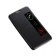 Δερμάτινη Θήκη Βιβλίο Smart Cover με Βάση Στήριξης για Huawei Mate 10 - Μαύρο