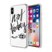 INCIPIO Design Series Classic Λεπτή Θήκη Σιλικόνης για iPhone X - Not Today (IPH-1651-NTD)