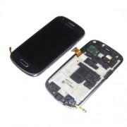 Original Samsung LCD Screen + Digitizer Touch Screen for Galaxy S3 Mini i8190 - Black (GH97-14204C)