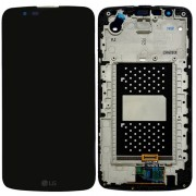 Original LG LCD Screen and Digitizer Assembly for LG K10 K420N - Black (ACQ88868304, ACQ88868302)