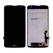 Original LG LCD Screen and Digitizer Assembly for LG K7 X210 - Black (EAT63353901)