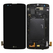 Original LG LCD Screen and Digitizer Assembly for LG K8 K350N - Black (ACQ88830201)
