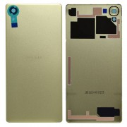 Original Battery Cover for Sony Xperia X F5121 / X Dual F5122 - Gold Lime (1299-9856)