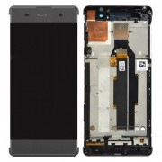 Original LCD Assembly with Touch Screen Digitizer for Sony Xperia XA/ XA Dual - Black (78PA3100010)