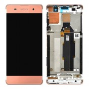 Original LCD Assembly with Touch Screen Digitizer for Sony Xperia XA/ XA Dual - Rose Gold (78PA3100050)