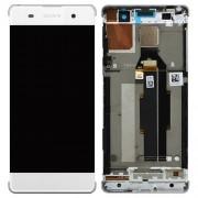 Original LCD Assembly with Touch Screen Digitizer for Sony Xperia XA/ XA Dual - White (78PA3100030)