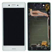 Original LCD Assembly with Touch Screen Digitizer for Sony Xperia X F5121 / X Dual F5122 - White (1302-4795)