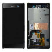 Original LCD Assembly with Touch Screen Digitizer for Sony Xperia M5 - Black (191HLY0003B-BCS)