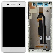 Original LCD Assembly with Touch Screen Digitizer Sony Xperia E5 - White (78PA4100050)