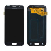 Original Samsung LCD + Digitizer Touch Screen for Samsung Galaxy A5 (2017) SM-A520F - Black (GH97-19733A)