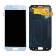 Original Samsung LCD + Digitizer Touch Screen for Samsung Galaxy A5 (2017) SM-A520F - Silver Blue (GH97-19733C)