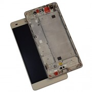 Original LCD Screen and Digitiger for Huawei Ascend P8 Lite - Gold